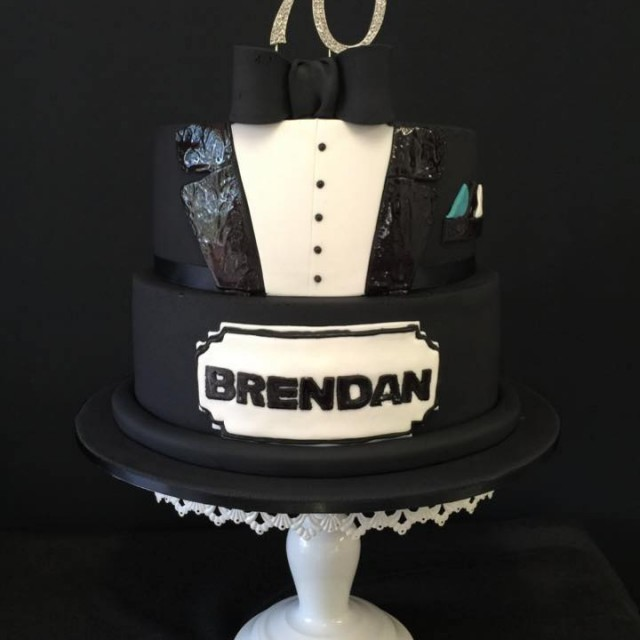 Happy Birthday Masculine Images Cake