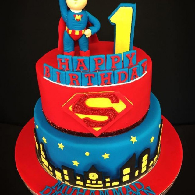 Boy  Year Birthday Cake